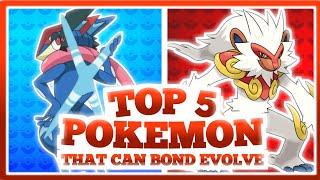 Top 5 Ash's Pokemon Who can Bond Evolve like Ash Greninja (Explain in Hindi)
