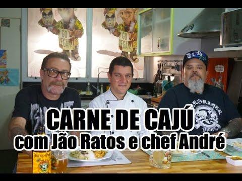 Carne de cajú com Jão Ratos e chef André | Panelaço do João Gordo