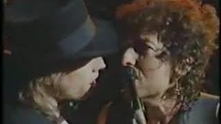 BOB DYLAN & TOM PETTY - LIKE A ROLLING STONE en Directo