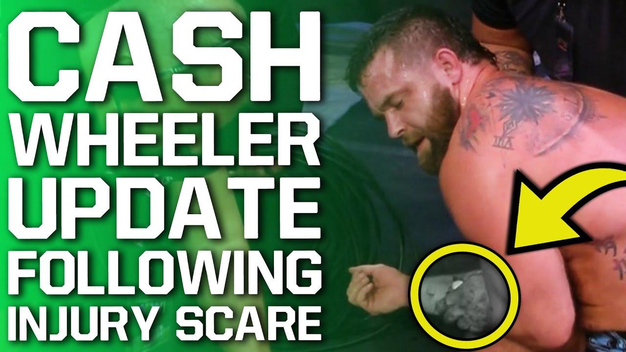 Update On Cash Wheeler Following AEW Dynamite Injury Scare   Braun Strowman Teases Big Announcement