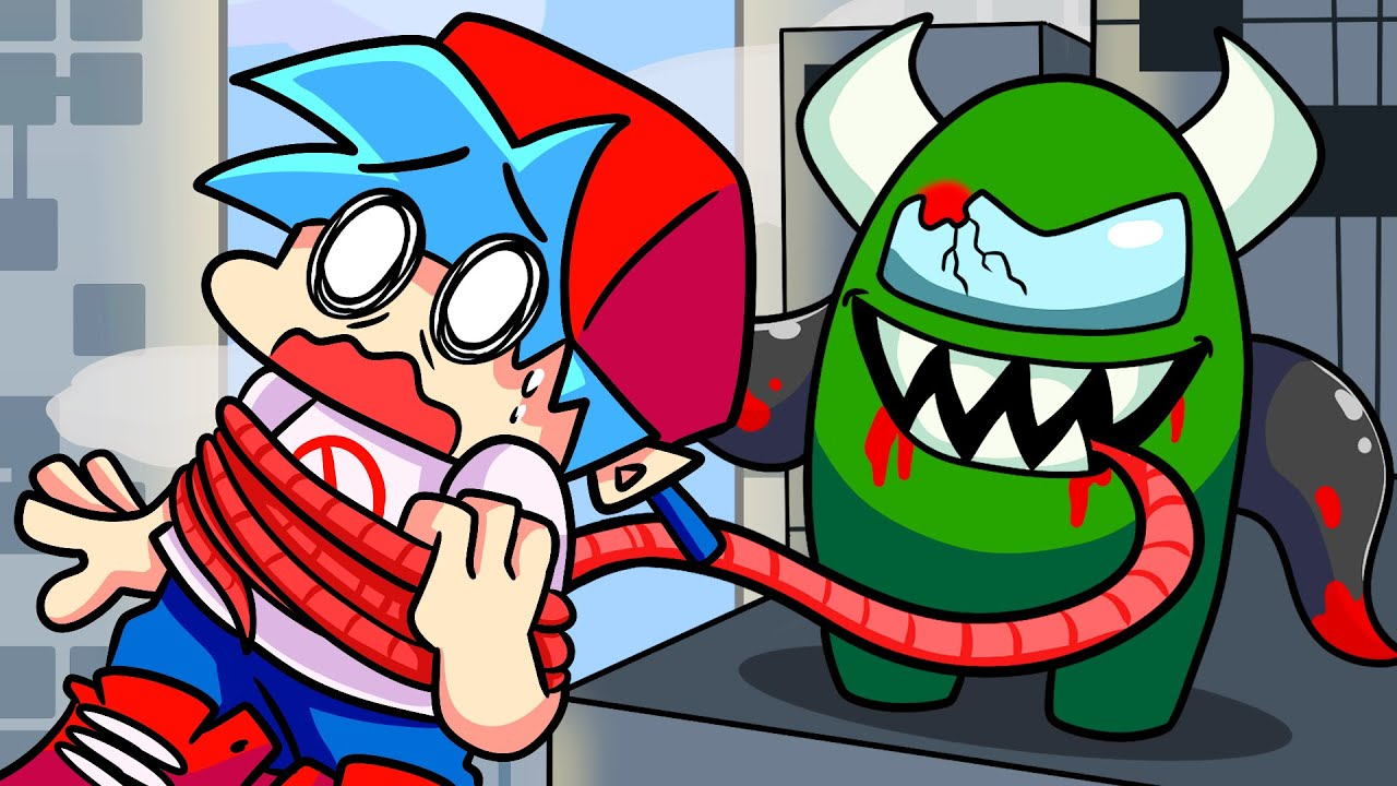 Download BOYFRIEND vs. IMPOSTER: REMATCH! Friday Night Funkin' Logic | Cartoon Animation