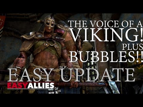 THE VOICE OF A VIKING (With FOR HONOR'S Sarah Elmaleh!) - EASY UPDATE 27