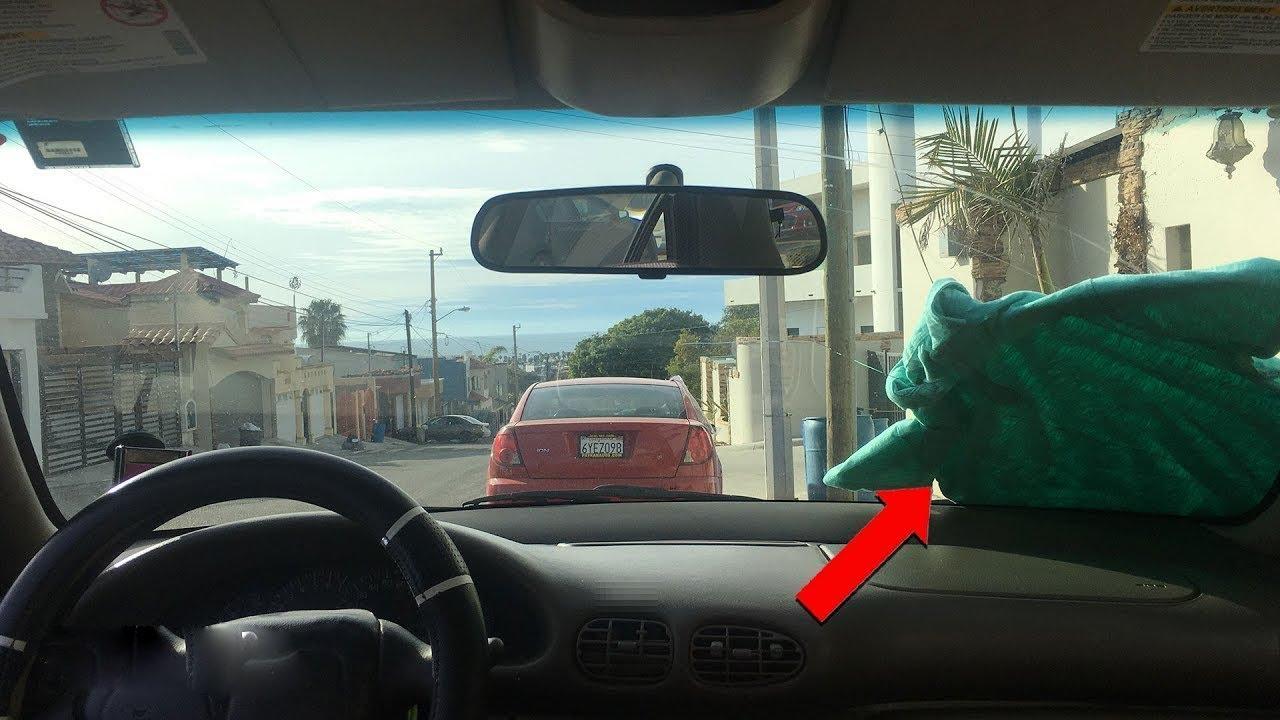 إذا رأيت ملابس على زجاج سيارتك لا تلمسه ابداً ، اهرب وانج بحياتك