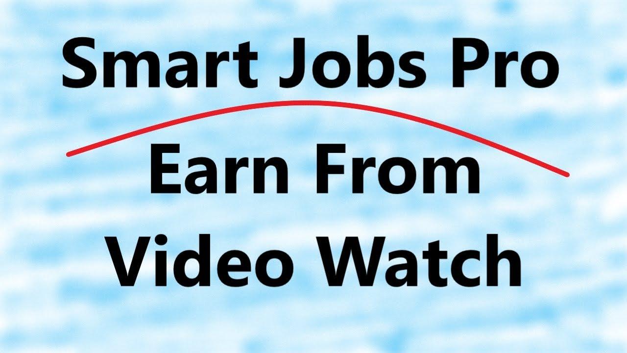 Smart Jobs Pro Earn Money From Video Games   Online Earning App