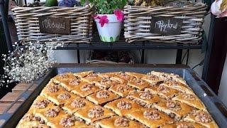 """Готовим у Каси / Вкусный рецепт приготовления """"Пахлавы"""" сочная, турецкая баклава пахлава бакинская"""