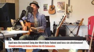 Crowdcasting - Crizz Düsenberg: Jetzt Teilen und Liken. Mehr Talente immer auf Crowdcasting.