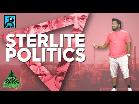 STERLITE POLITICS | THE ILLUMINATI SHOW WITH RJ VIGNESH #1 | BLACK SHEEP