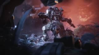 SLOW MOTION:  [Titanfall 2] First Titan battle