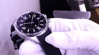 Обзор часов Jaeger-LeCoultre Polaris Memovox с функцией будильника за 1 000 000 рублей