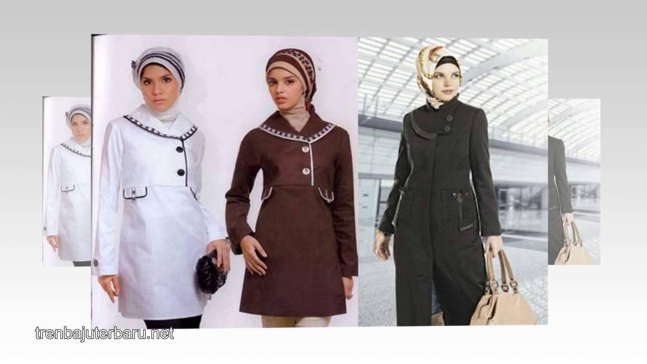 Tren model baju kerja muslim wanita terbaru