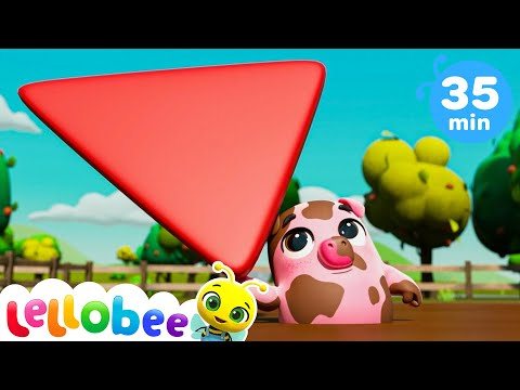 Muddy Puddles Song Learning Numbers! | Nursery Rhymes & Kids Songs - ABCs and 123s | Little Baby Bum