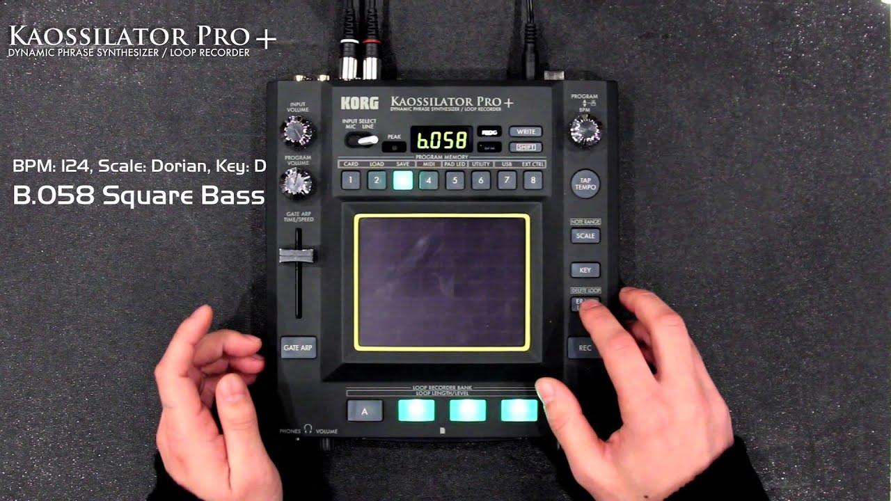 KORG KAOSSILATOR PRO USB MIDI WINDOWS 8 X64 DRIVER