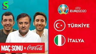 Türkiye-İtalya Maç Sonu  Mehmet Demirkol, Emre Özcan, İnan Özdemir