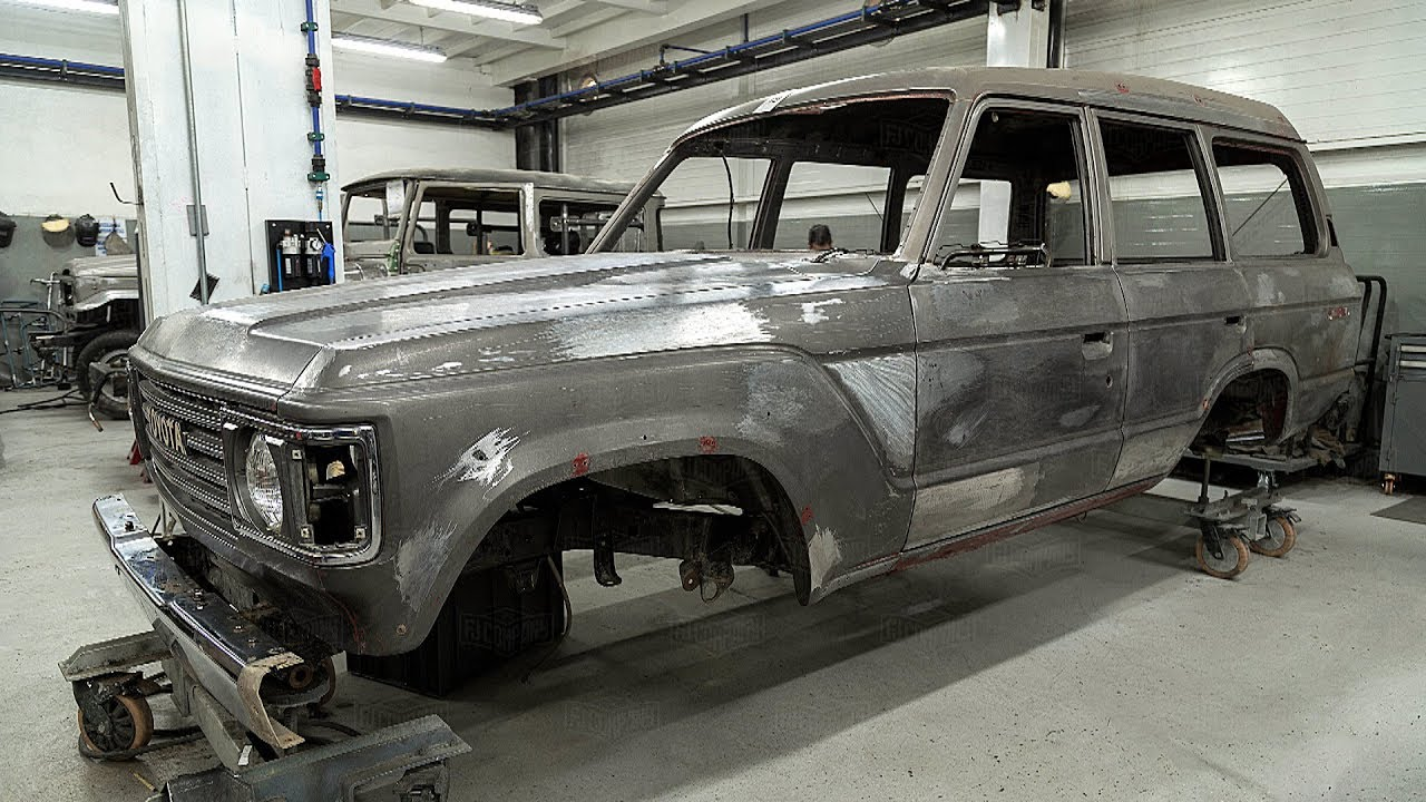 1986 Toyota Land Cruiser FJ62 Restoration Project