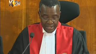 SUPREME COURT RULING ON PRESIDENTIAL PETITION 2017