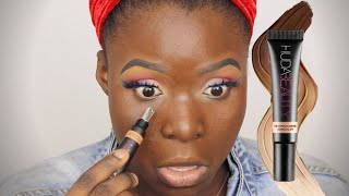 DON'T BELIEVE THE HYPE!! Huda Beauty Over Achiever Concealer Honest Review