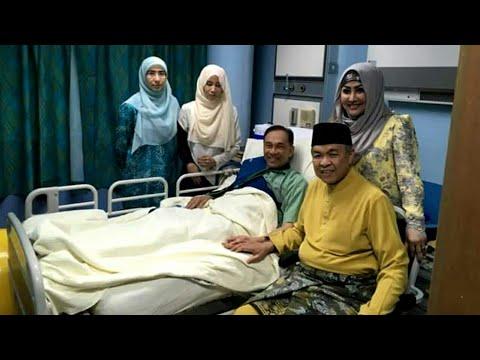 Giliran Zahid Hamidi Pula Melawat Anwar Ibrahim di HKL