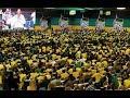 ANC members in KZN singing struggle songs, umhlaba wonke ezandleni zabantu. 2018 #ANCKZN conference