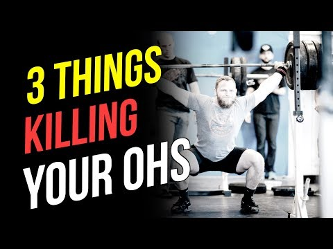 3 Things Killing Your Overhead Squat (OHS Mobility)