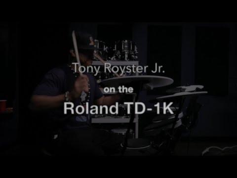 Tony Royster Jr. on the Roland TD-1K V-Drums Kit