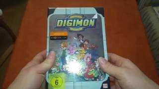 Unboxing Digimon Adventure Volume 1 limited Edition mit Sammelschuber [ deutsch - german ]