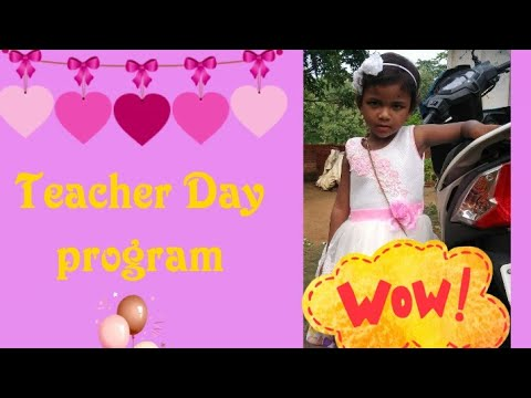 Teachar Day Program | Song Chhoti Si Aasha | Oxford Center School Sanwal Dangal Dumka