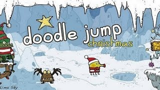 Doodle Jump Christmas Special Android GamePlay Trailer (HD) [Game For Kids]