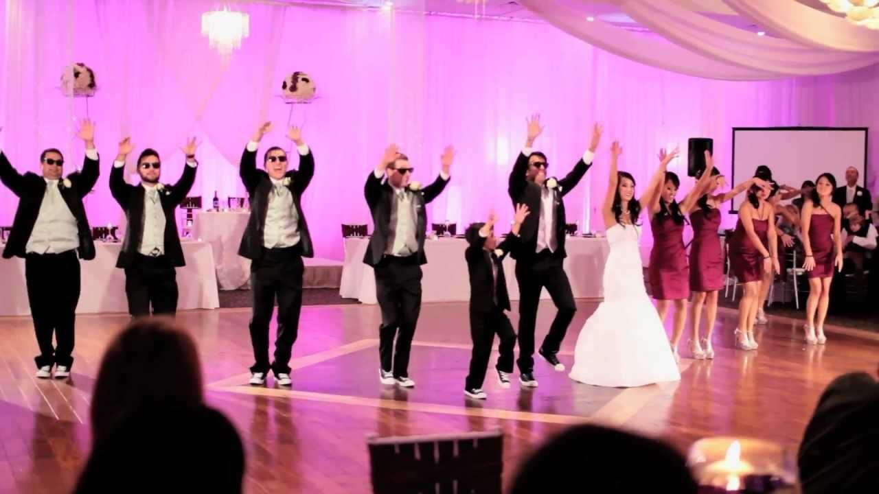 Gangnam Style (강남스타일) Wedding Reception Entrance - YouTube