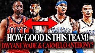 Dwyane Wade & Carmelo Anthony TO Join Forces In OKC!?