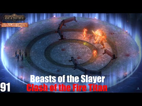 Clash of the Fire Titan - Pillars of Eternity II : Deadfire (Veteran Walkthrough) Part 91 |
