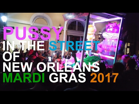 Pussy Riot Parade - MARDI GRAS 2017 - NEW ORLEANS