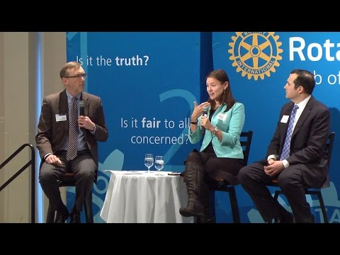 Milwaukee Rotary Club: Ruth Greenwood & Doug Poland