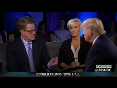 FULL Donald Trump Town Hall MSNBC, South Carolina February 17, 2016