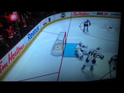 Hartnell Down Goal NHL 13