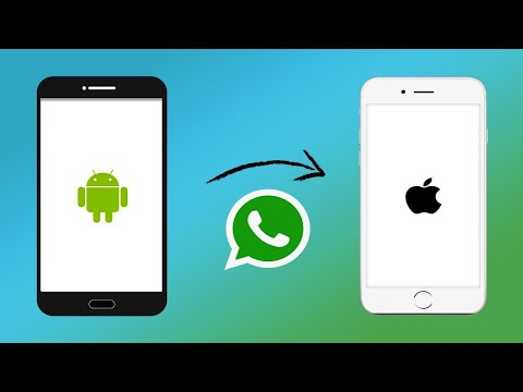 Transfer Whatsapp From Android To Iphone Through Backup With Dr Fone 2020