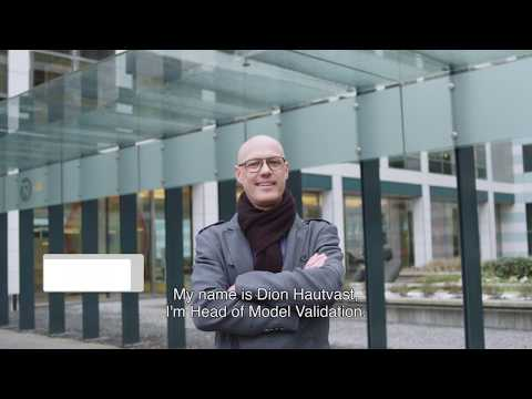 Dion Hautvast, Head of Model Validation at NN