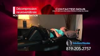 Hernie discale - Douleur au dos - Problème nerf sciatique - Sténose spinale - Gatineau - Ottawa