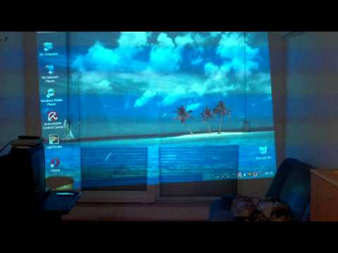 Acer x1160 projector