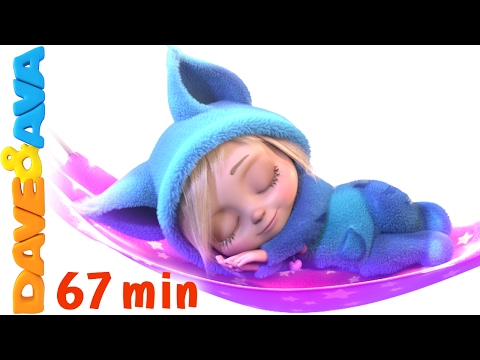 Thumbnail: 💤 English Rhymes | Rock a Bye Baby | YouTube Nursery Rhymes and Baby Songs from Dave and Ava 💤