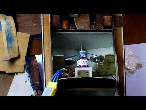 Royal Barge Repair #3: Power Train & Test