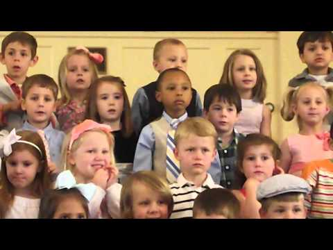 """William Avery singing """"There's nothing my God would not do"""""""