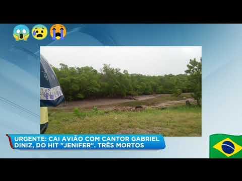 Acidente aéreo mata cantor Gabriel Diniz e mas 3 pessoas ele esse vídeo na hora do acidente Jennifer