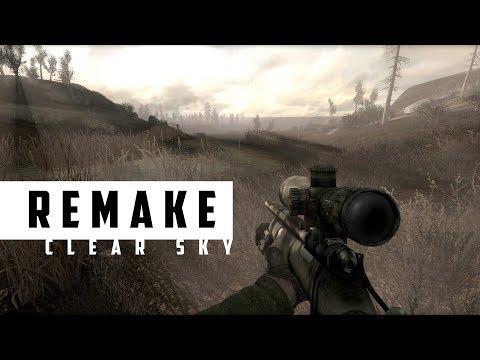 REMAKE - Чистое Небо 🔘 S.T.A.L.K.E.R. (Стрим - 1)