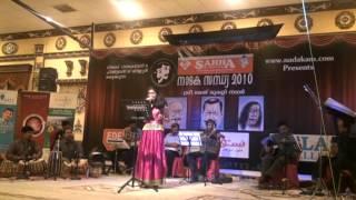 shreya ravindran      kaayalinakkare   drama song