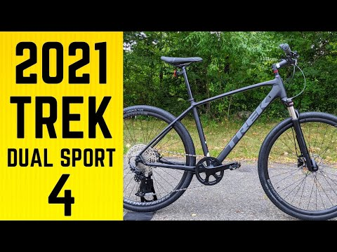 MAJOR UPGRADE | 1x11 |  2021 Trek Dual Sport 4 Hybrid Feature Review and Weight