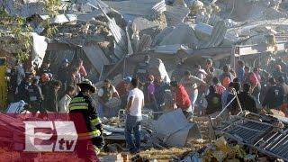 Suman siete muertos por explosión en hospital de Cuajimalpa