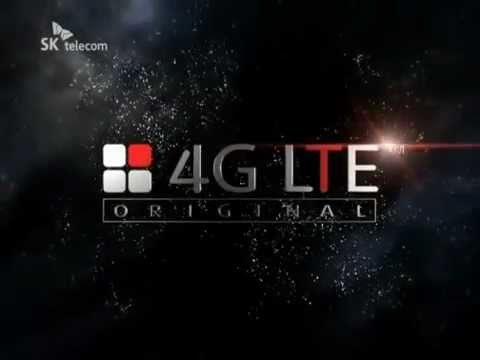[SK텔레콤 LTE] SKT 4G LTE 광고  로고 공개