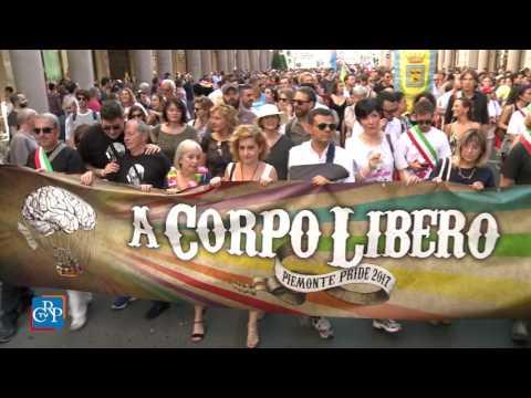 Torino Pride, 50 mila in piazza. Il saluto del presidente dell'Assemblea