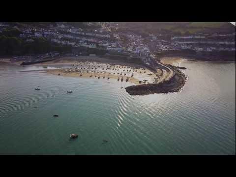 New Quay, Ceredigion, West Wales. Mavic Pro