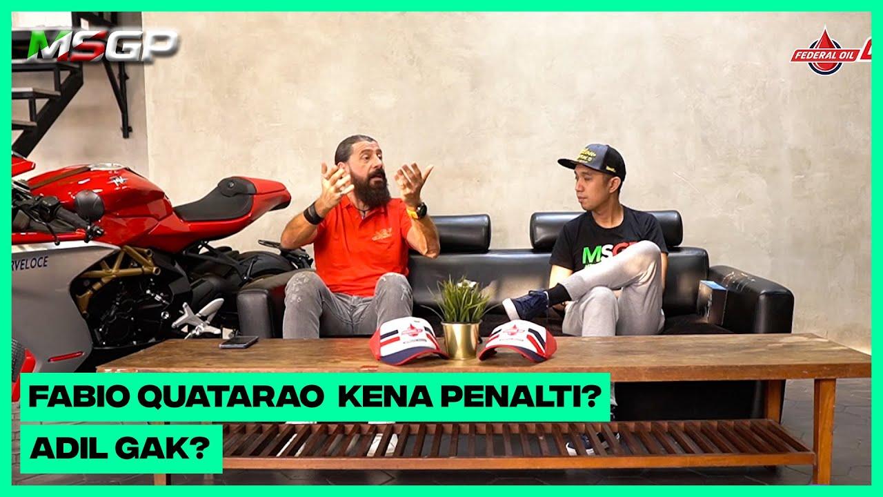 "MSGP - CATALUNYA - ""Fabio Quatarao Kena Penalti, Adil Ga?"""